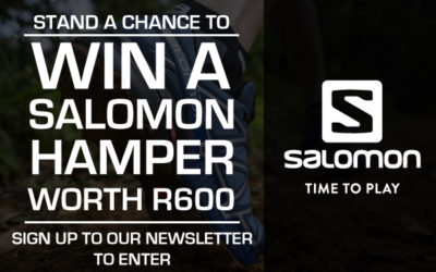 Sign up and stand a chance to win a Salomon Hamper